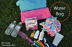 Water bag Summer Crafts, Summer Fun, Crafts For Kids, Summer Bags, Summer Ideas, Summer School, Kids Travel Activities, Rainy Day Activities, Summer Activities