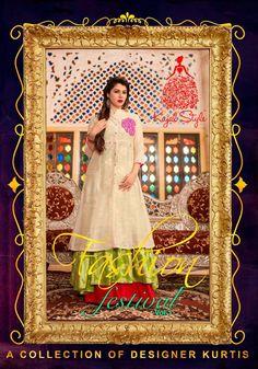 afa9de62a2 Kajal Style Fashion Festival Vol 1 Kurti Catalog 4 Pcs Wholesale Buy Kajal  Style Fashion Festival 1 Kurti Kajal Style Brand Ready Made Cotton Rayon  Lawn ...