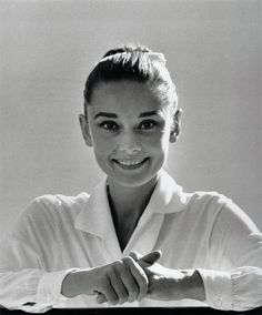 Rare Audrey Hepburn — Audrey Hepburn during the production of The...