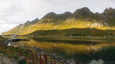 https://flic.kr/p/GdwA8y | living in between | the beauty and shelter of a fjord on the Norwegian Lofoten islands.