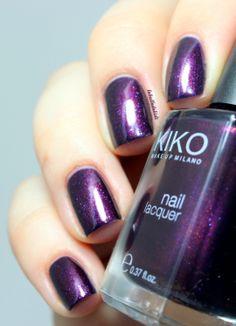 Pearly Indian Violet kiko 497- dupe taboo  ( JÁ NA MINHA COLECÇÃO!)