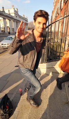 Robert Sheehan and Ben Barnes promote Killing Bono in Ireland 81528