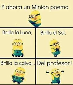 Minions Despicable Me, Spanish Humor, Kawaii, Otaku Anime, Best Memes, Funny Images, Mi Images, I Laughed, Funny Jokes