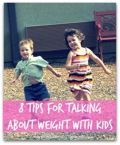 Dr. David Katz shares his top tips for talking about weight with kids.    via @FitBottomedGirl