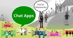 ADVANTAGES AND DISADVANTAGES OF SOCIAL CHATTING APPS