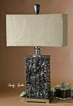 Uttermost Alita Black Table Lamp 27922-1