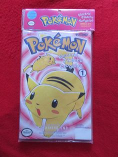 THIS IS A POKEMON ELECTRIC PIKACHU BOOGALOO 4 COMIC SET, FACTORY SEALED SERIES 3 of 4!! EXCELLENT CONDITION! #factory #sealed #series #comics #boogaloo #pokemon #electric #pikachu #rare