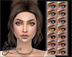 Anarchy-Cat: Eyes 09 by lorelea • Sims 4 Downloads