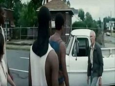 From the movie Grand Torino. Clint's character rescues the girl and runs off 3 black thugs and a white ofay, paddy, ass kissin wimp. Best Movies List, Movie List, Great Movies, Epic Movie, Movie Scene, Madonna, Grand Torino, Detroit, Steve Mcqueen