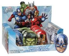 Image result for avengers candy