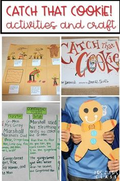 Second Grade Reading Lessons for Catch That Cookie! This fun gingerbread version of the book provides an excellent and engaging close read and writing response activity for your 2nd-grade classroom. Fun craft too!