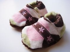 """Soft-soled shoes are so much easier to sew than you think. I've made my daughter fuzzy """"ballet"""" slippers an elfin slippers and they were super easy!"""