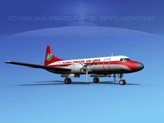 Convair CV-340 Alaska Frontier, $99.00