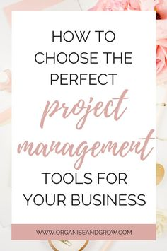 Every business should use a project management tool to stay organised and get stuff done. Here's how to choose one that's right for you and your business. #ProjectManagement #ProjectManagementTool #Asana #Trello #ClickUp #BusinessTips Make Money Blogging, Make Money Online, How To Make Money, How To Become, Online Work From Home, Work From Home Jobs, Successful Online Businesses, How To Stop Procrastinating, Best Blogs