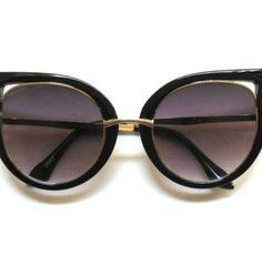 super gatinha - óculos sem marca