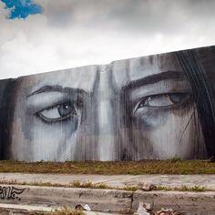 Rone, street art, graffiti art, wall murals, free walls