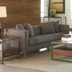 Coaster Ellery Sofa with Traditional Industrial Style - Coaster Fine Furniture