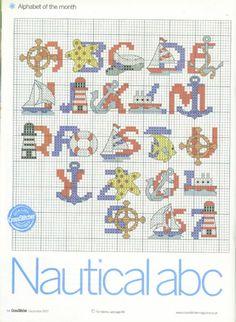 nautical alphabet 1-of-2 / Gallery.ru / Фото #43 - 3 - KIM-3