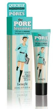 Benefit The POREfessional PRO Balm Primer.  An equal (but cheaper) substitute to my much-loved Estee Lauder Idealist Pore Minimizing Skin Refinisher.