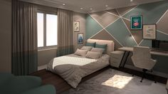 Kid Room 1 By Fadi Wardeh. 3D Max.