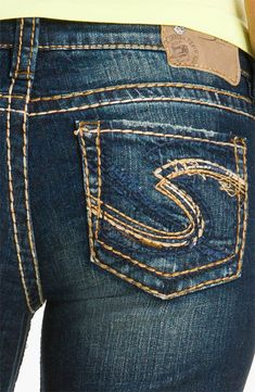 20e96c30 SILVER JEANS Sale New Buckle Mid Rise Lola Bootcut Stretch Jean 32 x 32