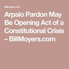"""This morning, I received an email from an old friend — one of the country's top trial lawyers: """"I have underestimated Trump.He knows what is coming, including a variety of criminal charges and other impeachable offenses.He is not just arousing … Continue reading"""