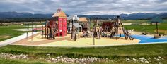 Fraser Valley Historic Playground at Fraser Valley Sports Complex - Western-themed playground in Colorado