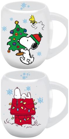 Be ready for the holidays mornings with coffee in Halloween and Christmas mugs featuring Snoopy, Woodstock and your favorite Peanuts characters. Start shopping at CollectPeanuts.com and support our site!