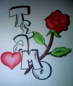 imagenes de flores con dedicatorias para dibujar