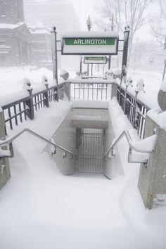 Boston Winter 2015 ~ The T Closed