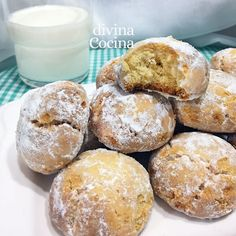 galletas de leche arabes Arabic Food, Sin Gluten, Crackers, Cookie Recipes, Nom Nom, Cheesecake, Muffin, Bread, Cookies