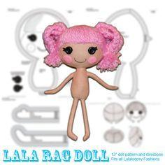 molde lalaloopsy - Pesquisa Google