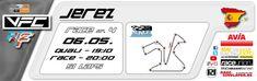 Heißes Rennen unter spanischer Sonne!  Wer bezwingt den Stier von Jerez?  Weitere Renninfos gibt es im Portal!