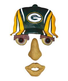 Loving this Green Bay Packers Forest Face on #zulily! #zulilyfinds