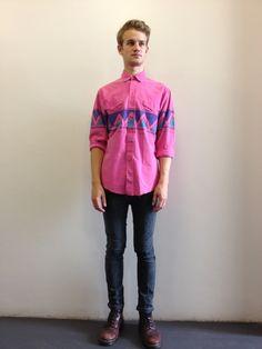 Pink vintage Wrangler shirt