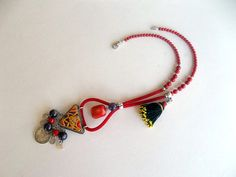 Valentine's Day  Gift    Jewelry Necklace  Afghan by GULDENTAKI, $50.00  #jewelry  #necklace #valentinesdaygift