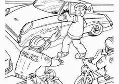 Kleurplaten Politiekantoor.15 Beste Afbeeldingen Van Kleurplaten Politie Police Activities