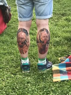 Perfect realistic tattoo portraits