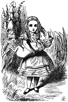 john tenniel <b>alice in wonderland</b>