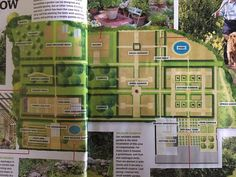 Monty Don's Garden at Longmeadow Potager Garden, Herb Garden, Vegetable Garden, Back Gardens, Outdoor Gardens, Organic Gardening, Gardening Tips, Kitchen Gardening, Longmeadow Garden