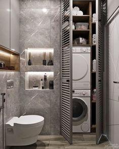 100 Idee Su Bagno Con Lavatrice Nel 2020 Bagno Arredamento Bagno Arredamento