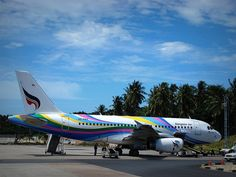 Bangkok Airways is a regional airline serving southeast Asia.