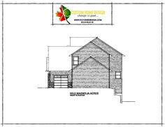 Wild Magnolia Acres Right Elevation #KCHomeDesign #NewConstruction #CustomDesign #Architecture #ArtisanHome #Artisan #DreamBig #Design #ArtisanDesign
