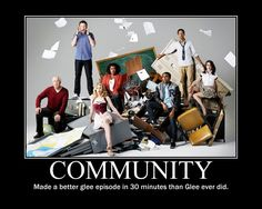 I even like Glee, but this is kinda true...and funny.