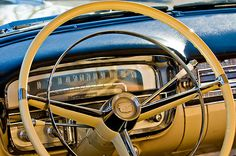 1956 Cadillac Steering Wheel by Jill Reger  Love this