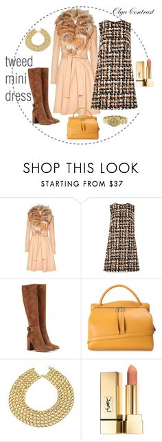 """""""14.10.2016"""" by olgacontrast on Polyvore featuring мода, Alice + Olivia, Dolce&Gabbana, Gianvito Rossi, Jil Sander, Chanel и Chaumet"""