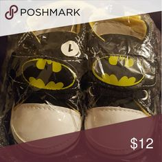 Batman baby shoes New! Super cute! Shoes Baby & Walker