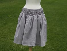 Running With Scissors: Voile Gray Skirt: modcloth knock-off