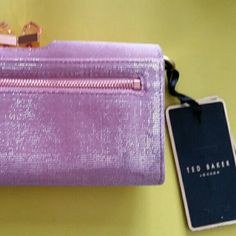 Ted Baker Wallet Never used, tags stil on and original wrapping on zippers, box included. Ted Baker Bags Wallets
