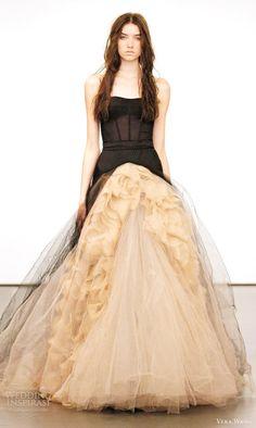 Vera Wang Fall 2012 Wedding Dresses